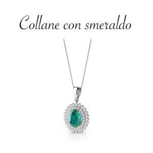 Collane con smeraldo